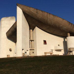 la chapelle Notre-Dame du Haut lame sud Le Corbusier Ronchamp