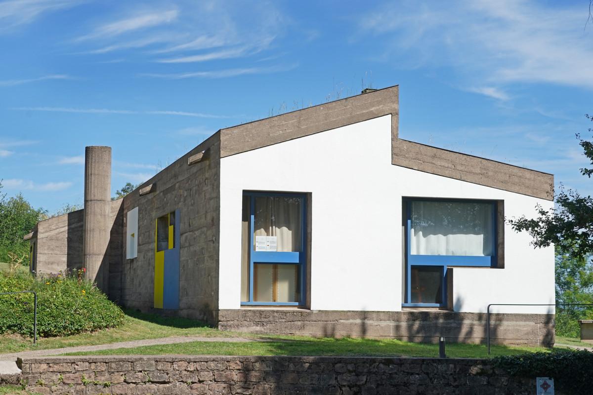 l'abri du pèlerin Le Corbusier Ronchamp