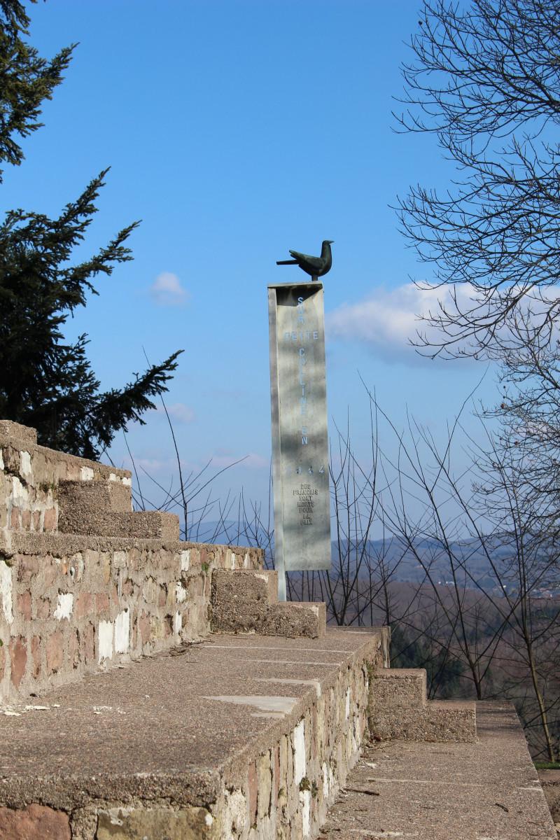 La colombe de la paix Le Corbusier Ronchamp