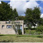 La Maison du chapelain façade sud Le Corbusier Ronchamp
